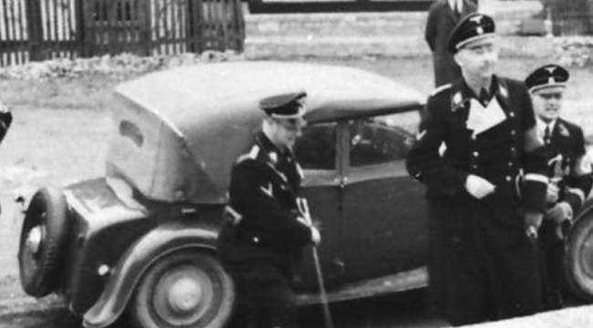 Himmler at Wewelsburg