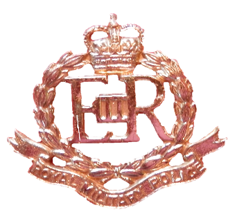 Royal Military Police cap badge and insignia