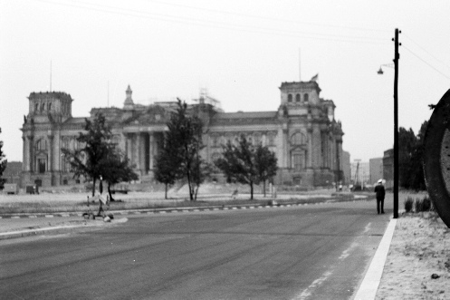 The Reichstag Berlin in 1966
